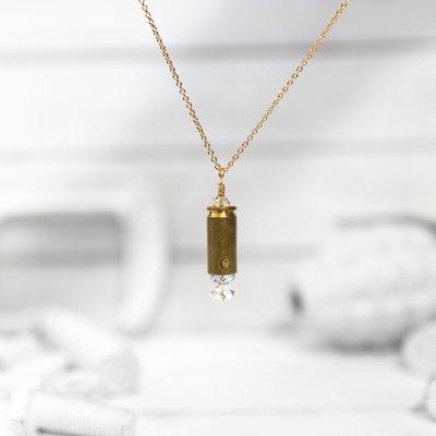 Brass & Unity Mini Shine Brighter Necklace