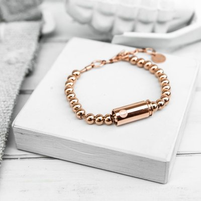 Brass & Unity Special Forces Mini Bracelet - Rose Gold