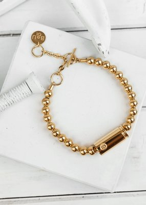 Brass & Unity Special Forces Mini Bracelet - Gold