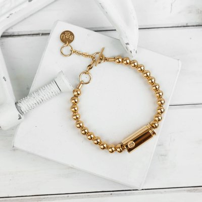 Brass & Unity Special Forces Mini Bracelet - Gold