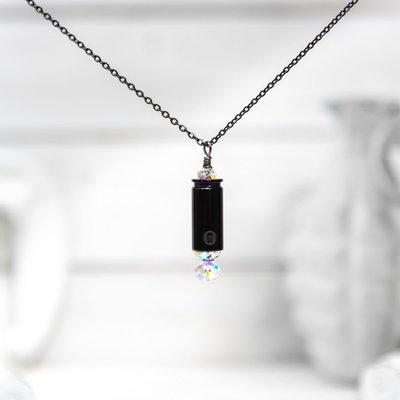 Brass & Unity mini shine brighter necklace - titanium