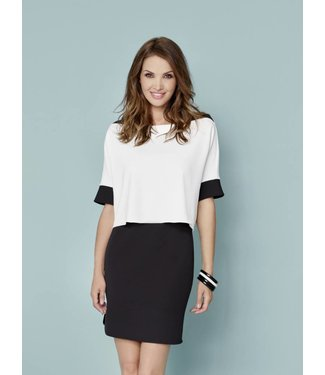 Katherine Barclay Knit Shslv dress