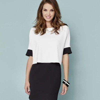Katherine Barclay Knit Shslv dress