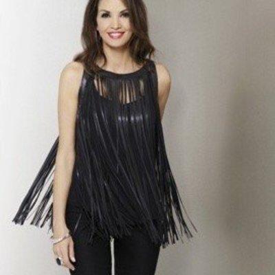 Katherine Barclay Fringe Vest