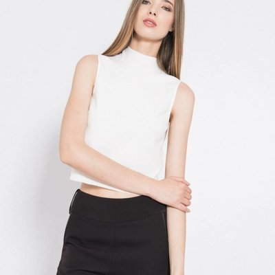 Silvian Heach Mandura Crop top white