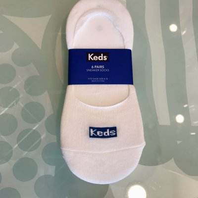 Keds Low Show Socks - 6 pack