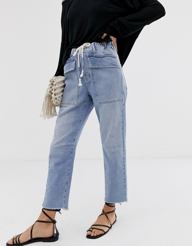 Free People City Slouch Jean