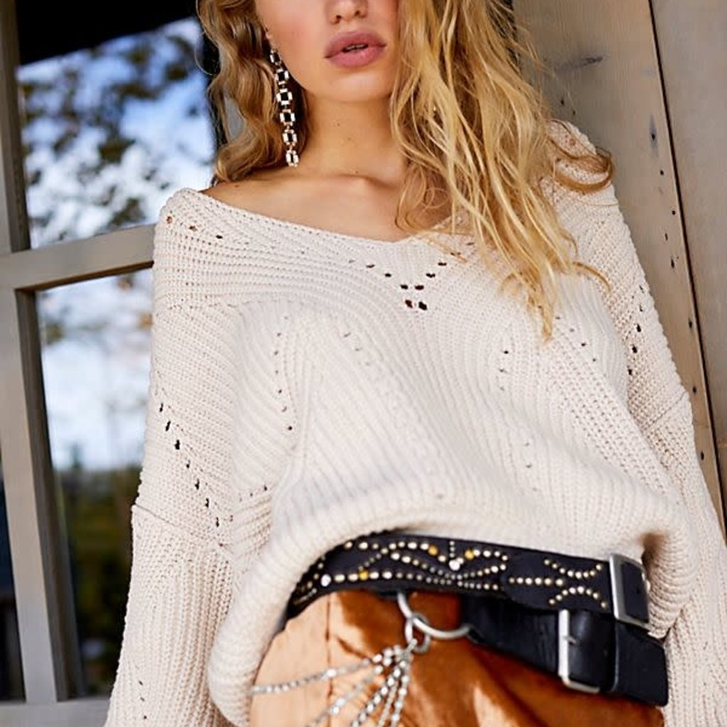 Free People All Day Long Sweater
