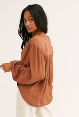 Free People Check on it Wrap Top
