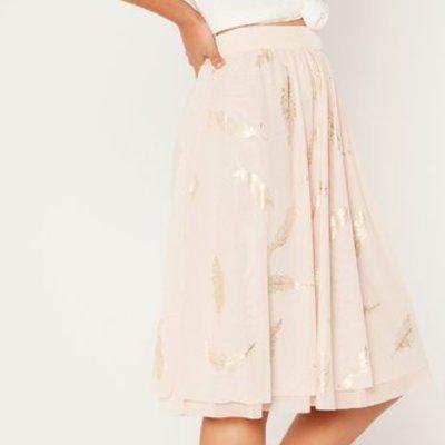 Mink Pink Plumette Mesh Ballet Skirt