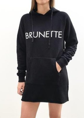 Brunette the Label Middle Sister Dress- Black