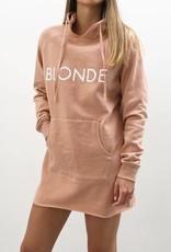Brunette the Label Middle Sister Dress- Rose