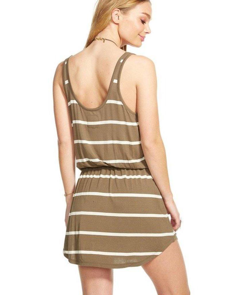 Chaser Jersey Shirttail Tank Dress