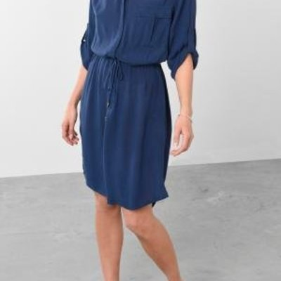 Soaked In Luxury Olivia Shirt Dress