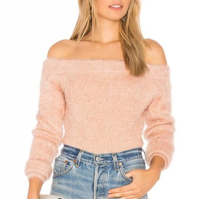 Mink Pink Florentine off shoulder