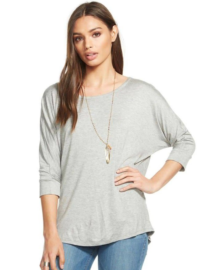 Chaser Cut out draped back