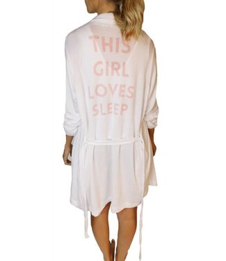 Sleep by PRIV This Girl graphic robe