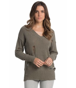 Elan Distressed Sweater