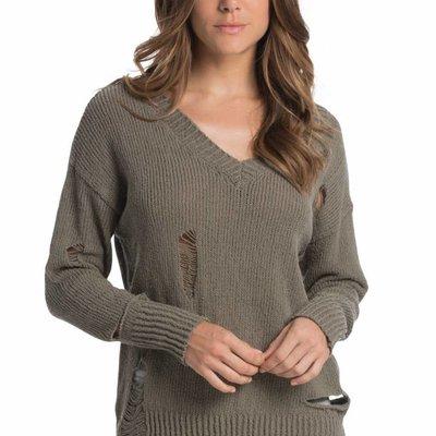 Elan Distressed Sweater