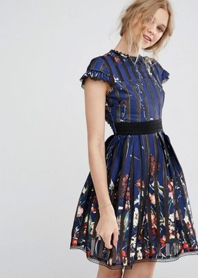 Foxiedox Senna Embroidery Dress