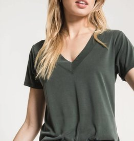 ZSupply Lux Model Deep V-Neck