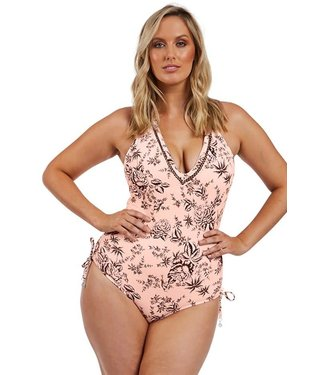 Seafolly Love Bird Deep V Maillot