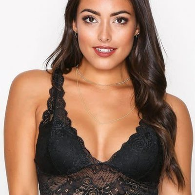 Only Chloe Col Lace Bra