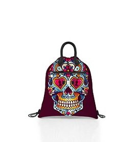 Save My Bag Save My Bag Cloud Lycra Calaveras Rosado