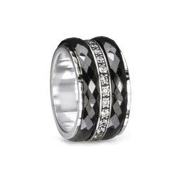 Meditation Rings Meditation Ring Untold 3401 Size 8 Black