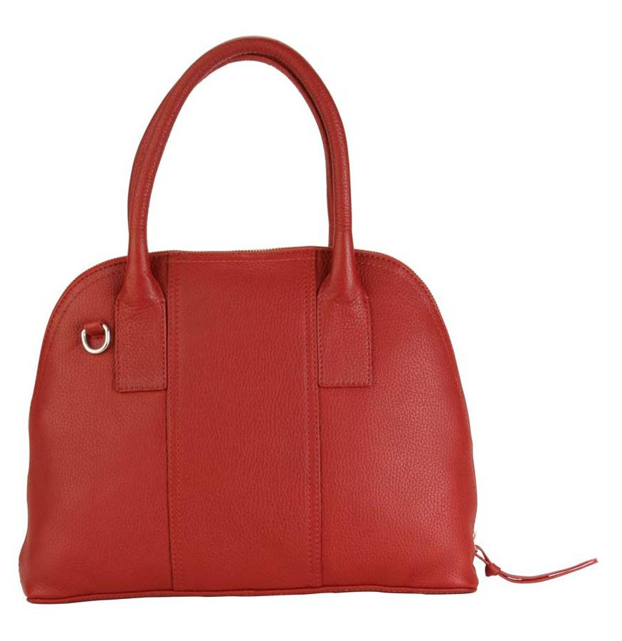 5cf3ebb72e Hadaki Hadaki Hannah's Bowling Bag Deep Red - Key West Handbags