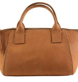 Hadaki Hadaki Ecoleather Mini Boat Bag Camel