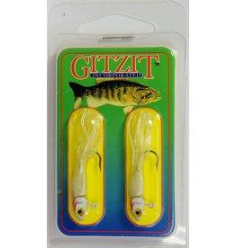 Gitzit Gitzit 16181 Little Tough Guy 1/8oz White