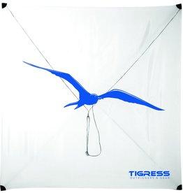 Tigress Tigress 88607-2 Specialty Lite Wind Kite White