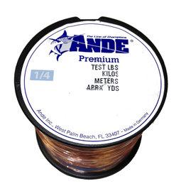 Ande Ande A14-25P Pink Mono 1/4-25 lb 500yds