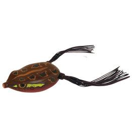 Spro Spro SBEF65NRED Frog Dean Rojas Bronzeye Frog 5/8oz Natural Red