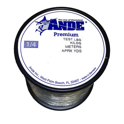 Ande Ande A14-15C Clear Mono 1/4-15 lb 750yds