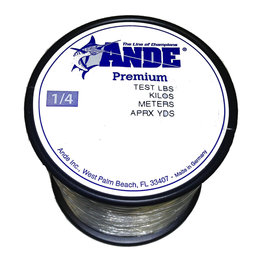 Ande Ande A14-25C Clear Mono 1/4-25 lb 500yds