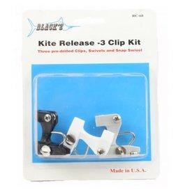Black's Marine Black Marine RC70 Kite Release 2 Clip Kit