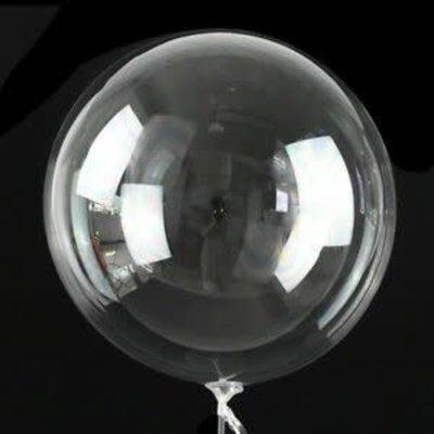 Tigress Helium Balloons 36in 2pk Clear