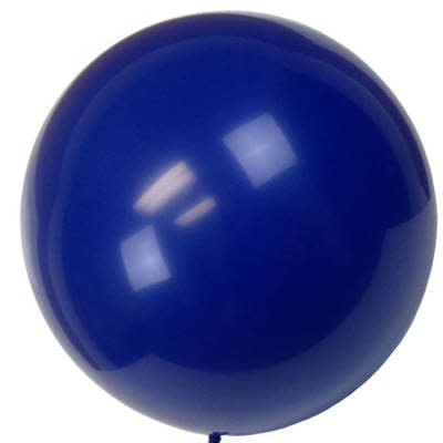 Tigress Helium Balloons 36in 2pk Dark Blue