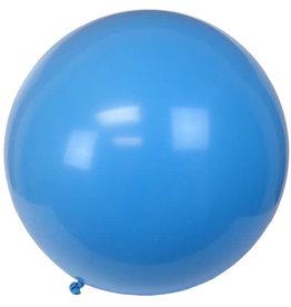 Tigress Helium Balloons 36in 2pk Light Blue