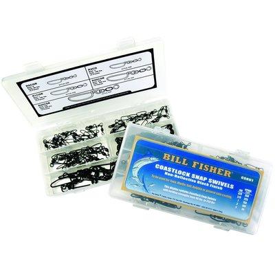 Billfisher Billfisher CSK61 Coastlock Snap Swivel Kit