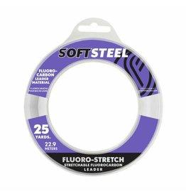 Soft  Steel Soft Steel Stretchable Fluorocarbon Leader 25yds 30lb