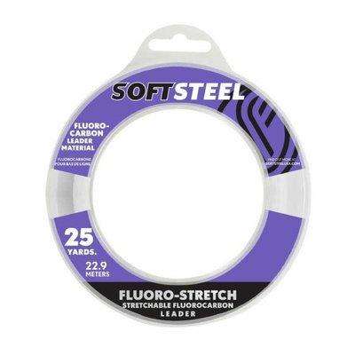 Soft  Steel Soft Steel Stretchable Fluorocarbon Leader 25yds 60lb