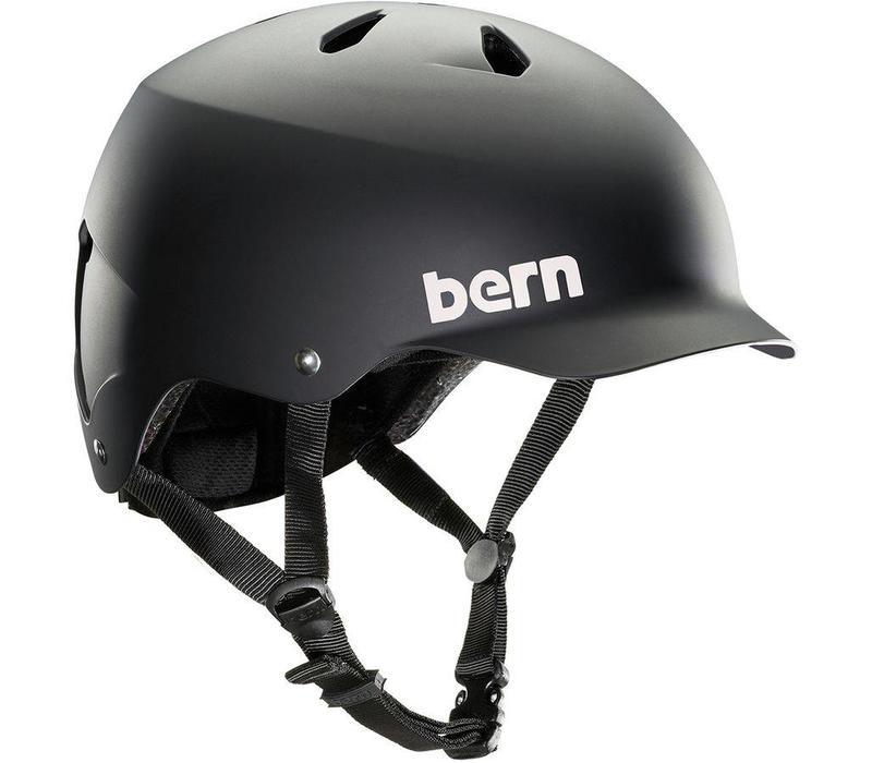 Bern Watts Mips, Helmet, Matte Black