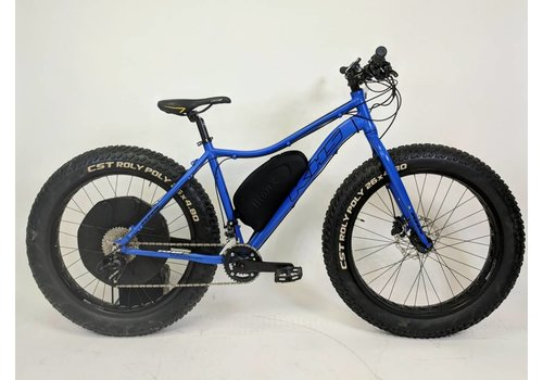 KHS KHS 4 Season 500 Fatbike BionX D500 Blue Medium