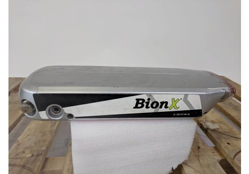 BionX Used BionX RX Battery Silver 48V 8.8AH 423WH 301 Charge Cycles Serial: 4426-D13076152