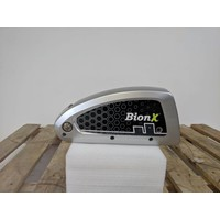 Used BionX DX Battery Silver 48V 8.8AH 423WH 45 Charge Cycles Serial Number: 4000-D15089009
