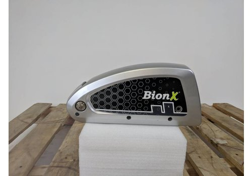 BionX Used BionX DX Battery Silver 48V 8.8AH 423WH 45 Charge Cycles Serial Number: 4000-D15089009
