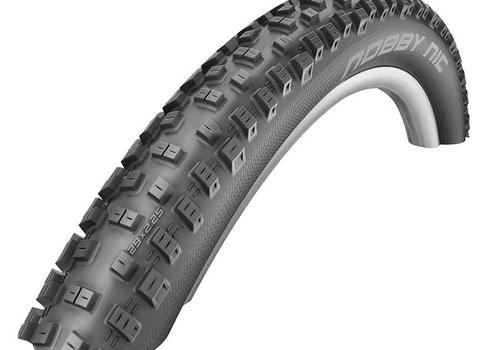 "Schwalbe Schwalbe Nobby Nic Tire, 27.5""x2.25"", Folding, Tubeless Ready, PaceStar, SnakeSkin"